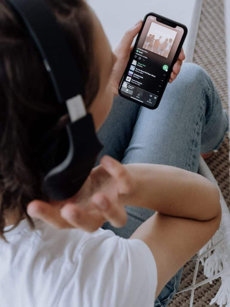 Bring a data SIM to India to listen to your music online